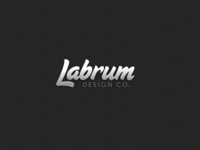 A New Labrum Design Co. Logo