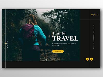 Travel ux ui landing page design landing page website concept website design website concept design application design figma adobe illustrator application ui