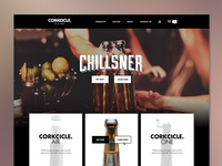 Corkcicle Homepage