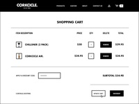 Corkcicle Shopping Cart