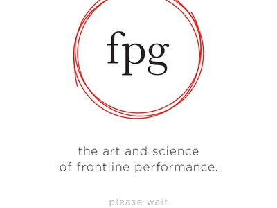 FPG Website Mobile View web ux ui homepage menu info fixed design monochromatic mobile