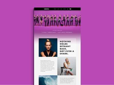 Corkcicle Ambassador Page 1 web ambassador retail color transition design commerce grid