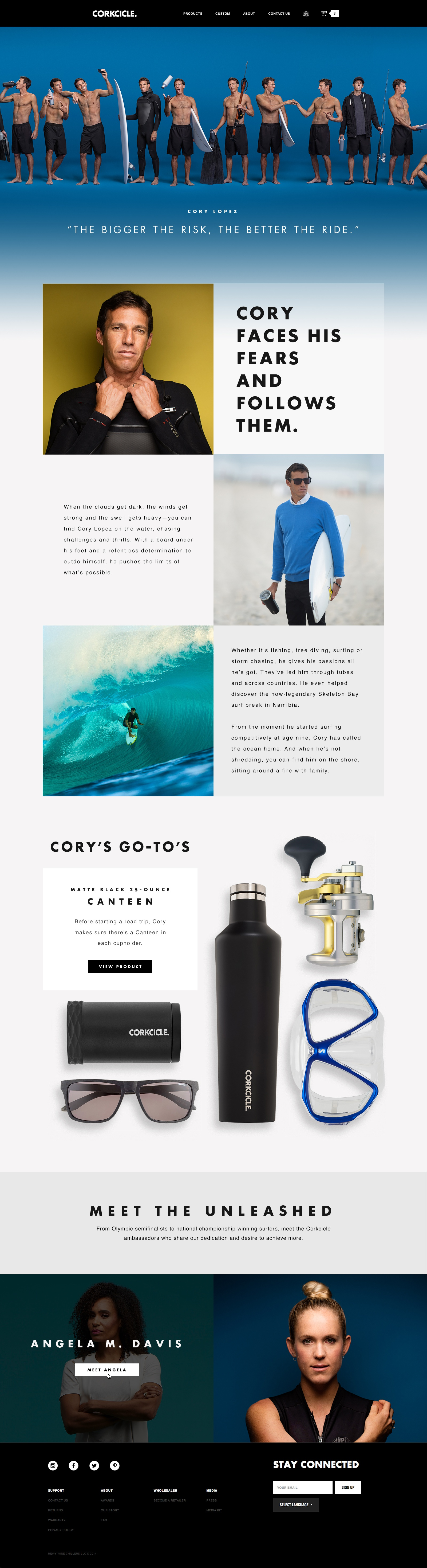 Corkcicle ambassador cory