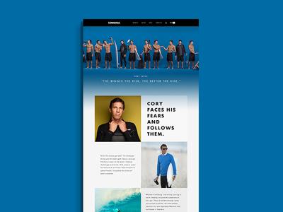 Corkcicle Ambassador Page 2 web ambassador retail color transition design commerce grid