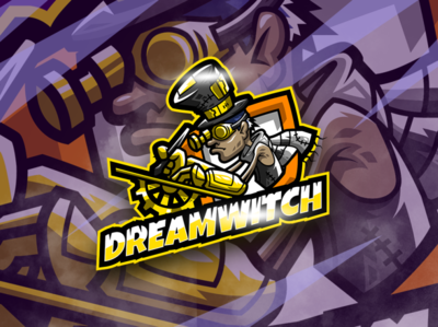 DreamWitch Esport Logo