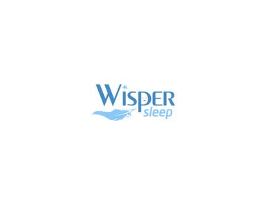 Wisper Sleep Logo Design