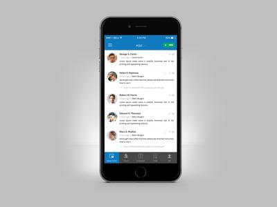 Help Desk Mobile App Dashboard UI UX Design