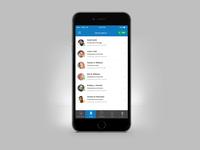 Help Desk Mobile Users Screen UI UX Design