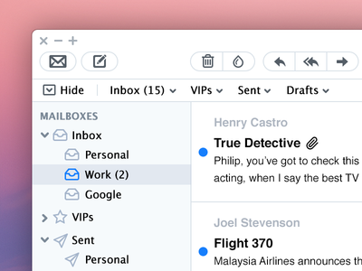 Mail App Re-skinned