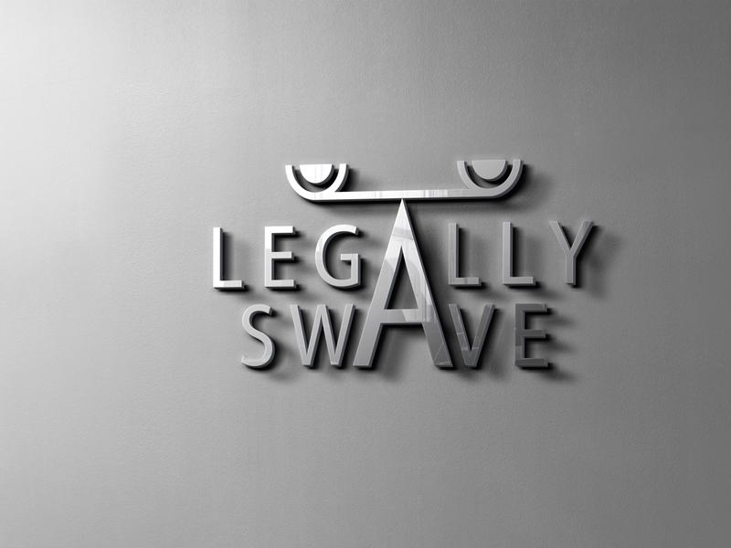 Legally Swave Logo Design branding logo mockup mock-up mockup mockups logomark brand identity logogrid logo mark logo business logogram logoground logo design logotype logos logo