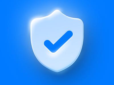 Protected Icon 🛡️ app icon design app icon icon design iconography done check vpn vpn app shield icon vector branding logo app illustration ios design