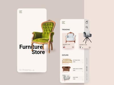 Furniture Store | UI