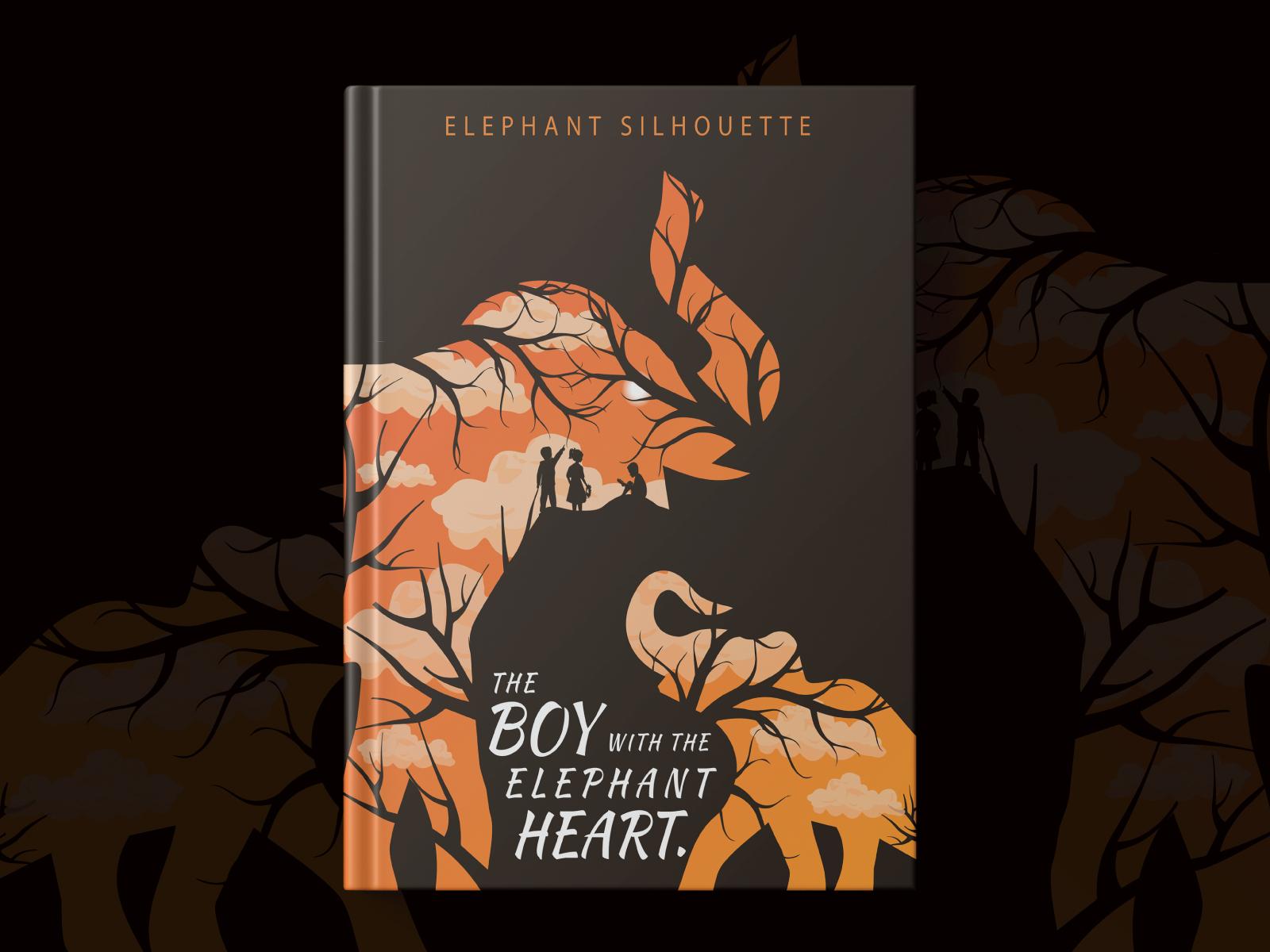Elephant Silhouette Book Design Landscape Design By Saber Ahmed On Dribbble,Fractal Design Tempered Glass Side Panel For Fractal R6