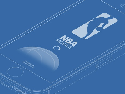 Nba Mobile Wireframe wireframe wire frame blue print mobile app app wireframing sports nba basketball sketching mockup