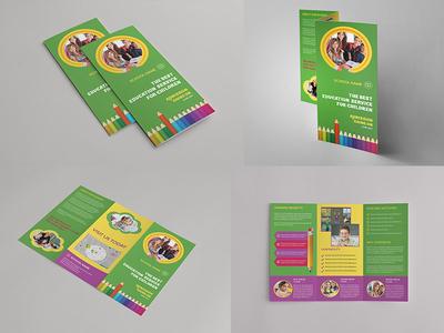 Kids School Trifold Brochure