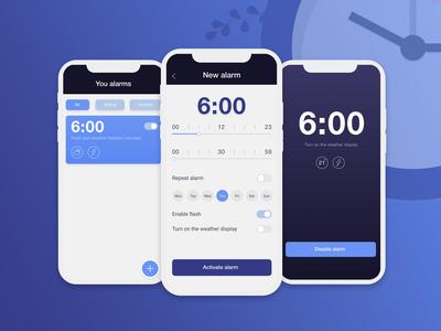Alarm Clock for deaf people