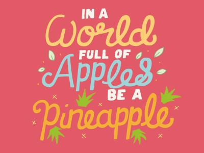 Apples & Pineapples