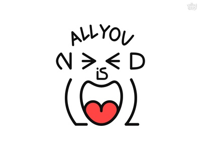 All you need is LOL font lol laugh typography fun humor word as image image word text illustration