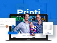 Printi - Redesign Web