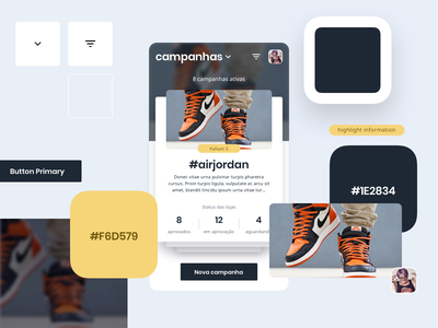 Components App cards app guide design system components