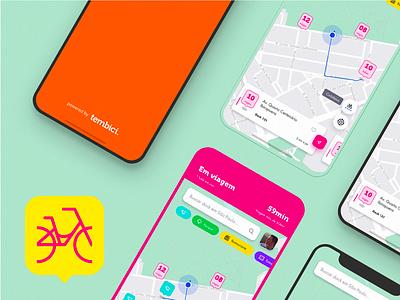 App Bike Sharing - Tembici / Bike Itaú pin map app itau tembici bike bike sharing