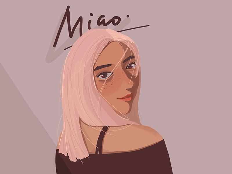 New Shot - 08/09/2019 at 02:17 PM designer cute girl art illustrator