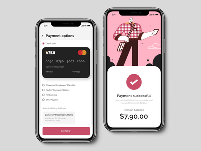 credit card payment 001 uidesign design app interfacedesign 002 dailyui ui