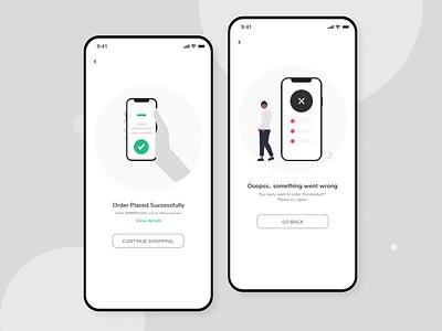 flash messages ui flash message design uiux dailyui app interfacedesign