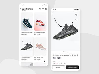 E-commerce shop app design uiux ui e-commerce dailyui interfacedesign