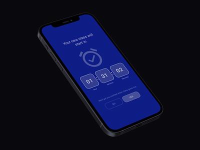 countdown design uiux app 001 uidesign dailyui countdown interfacedesign