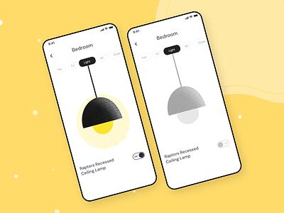 ON/OFF Button app 001 uidesign design uiux dailyui interfacedesign