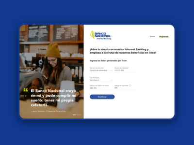 Signup [Online Bank]