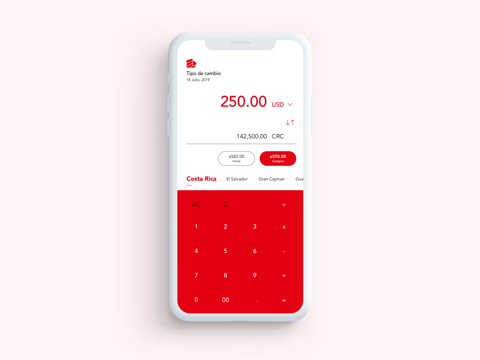 Calculator [bank currency converter] uidesign ui calculator daily ui dailyui