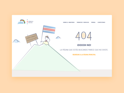 404 page [government of costa rica]