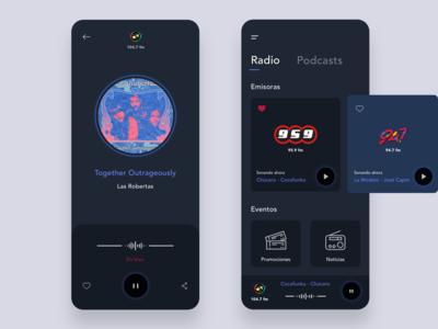 Music player [radio app]