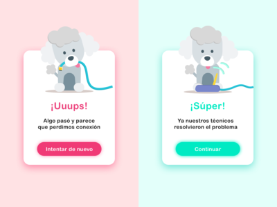Flash message [pet app]