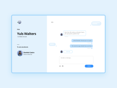 Direct messaging [web chat]