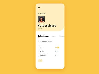 Home monitoring [improvement] app ux design ux uidesign ui daily ui dailyui