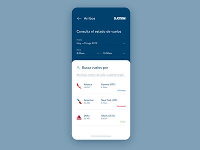Search [airport] airport flights ux design ux uidesign ui daily ui dailyui