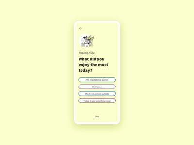 Lifestyle [app feedback]