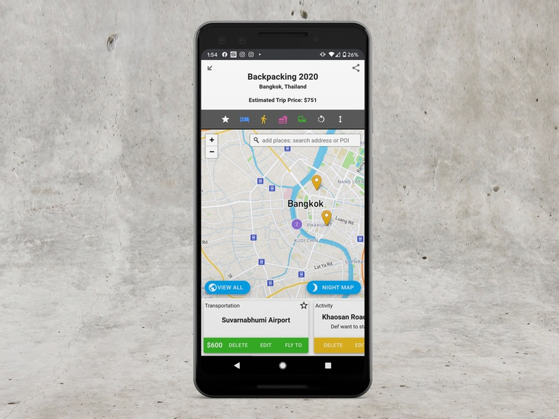 Mobile Responsive: Re-designing for touchscreens app web ui design