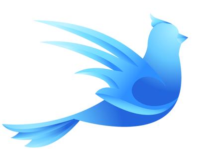 Blue Bird Icon