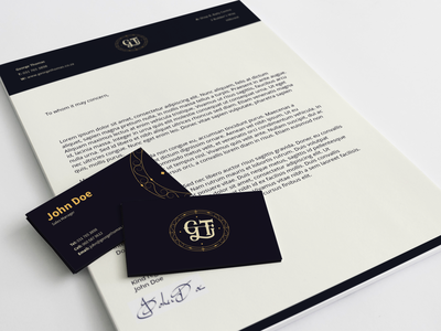 George Thomas Corporate Identity Design