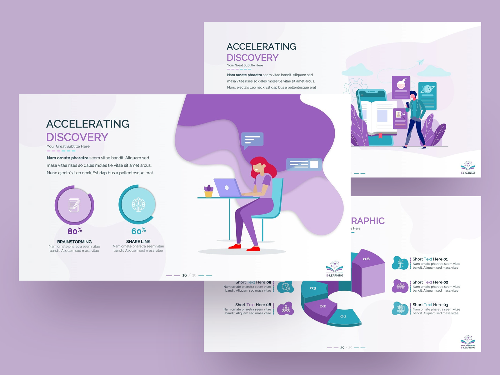E Learning Powerpoint Presentation Template By Premast On Dribbble