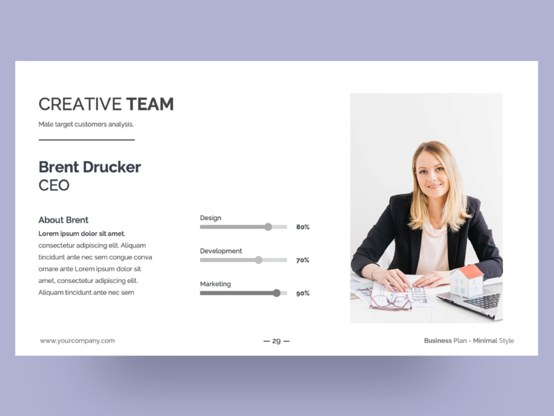Minimal Style Business Plan PowerPoint Presentation business plan minimalism team white simple minimalistic minimal ppt template slides clean presentation creative powerpoint design infographic business powerpoint template