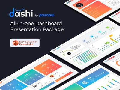 dashi- dashboard PowerPoint template analysis report dashboad charts chart ppt template slide pptx presentation creative powerpoint design infographic business powerpoint template