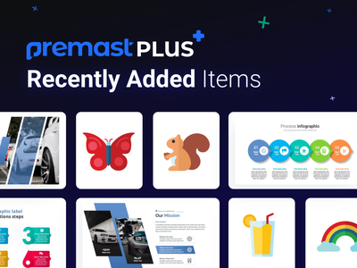 Premast Plus Recently Added Items servers marketing mockup financial medical dashboard chart vector business strategy automotive slides pptx clean presentation creative infographic powerpoint design business powerpoint template