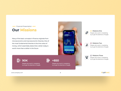 Flatonic – Financial PowerPoint Presentation Template financial service vision mission chart reporting flatonic financial app financial slides pptx clean presentation creative infographic powerpoint design business powerpoint template