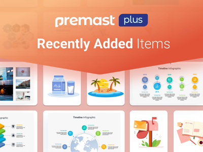 Premast Plus Recently Added Items vector character business plan marketing financial education medical dashboard ui chart dashboard slides pptx clean presentation creative infographic powerpoint design business powerpoint template
