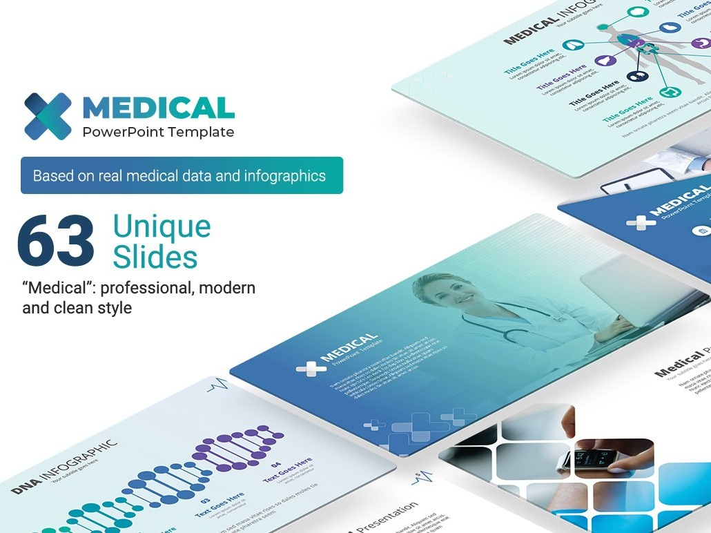 Medical Powerpoint Template By Premast On Dribbble